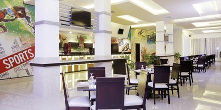 Restaurangen Sports Bar på hotell Aqua Vista i Hurghada, Egypten.