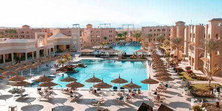 Poolområde på hotell Aqua Vista i Hurghada, Egypten.