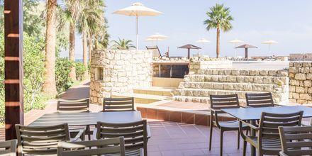 Snackbar på hotell Aquamar på Kreta, Grekland.