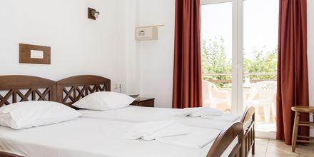 Dubbelrum på hotell Aquamar på Kreta, Grekland.