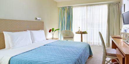 Dubbelrum på hotell Aquila Porto Rethymno på Kreta, Grekland.