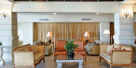 Lounge på hotell Aquila Rithymna Beach på Kreta, Grekland.