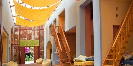 Barnklubb på hotell Aquila Rithymna Beach på Kreta, Grekland.
