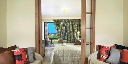 Familjerum på hotell Aquila Rithymna Beach på Kreta, Grekland.