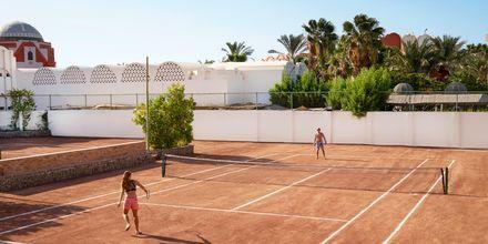 Tennis på hotell Arabella Azur Resort i Hurghada, Egypten.