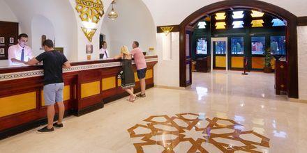 Reception på hotell Arabella Azur Resort i Hurghada, Egypten.