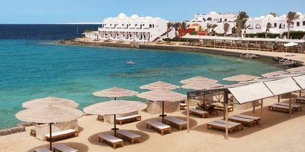 Stranden vid hotell Arabella Azur Resort i Hurghada, Egypten.