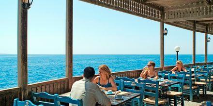 Grillrestaurang på hotell Arabella Azur Resort i Hurghada, Egypten.