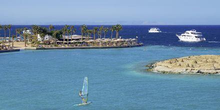 Vindsurfing på hotell Arabia Azur Resort i Hurghada, Egypten.