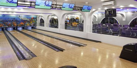 Bowling på hotell Arabia Azur Resort i Hurghada, Egypten.