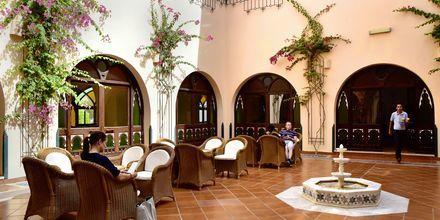 Lounge på hotell Arabia Azur Resort i Hurghada, Egypten.