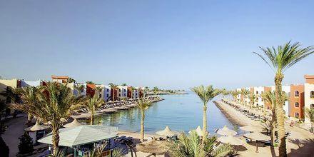 Lagunen på Arabia Azur Resort i Hurghada, Egypten.