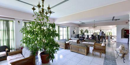 Lobbyn på hotell Arion i Kokkari, Samos.