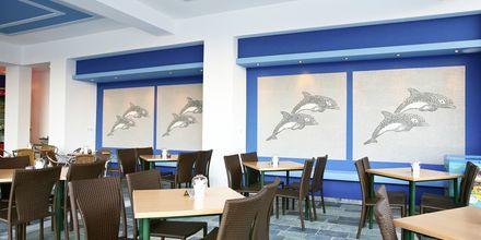 Restaurang på hotell Arion i Kokkari, Samos.
