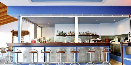 Bar på hotell Arion i Kokkari, Samos.