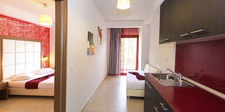 Tvårumslägenhet på hotell Aristidis Garden i Parga.