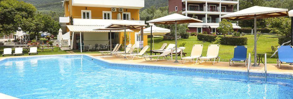 Hotell Aristidis Garden i Parga.