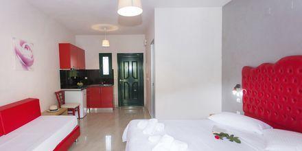 Enrumslägenhet på hotell Aristidis Garden i Parga.
