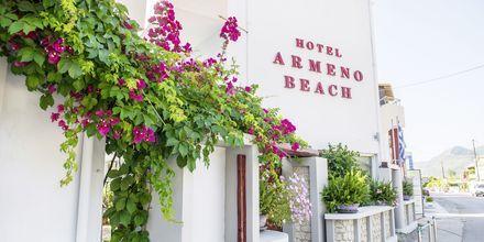 Hotell Armeno Beach på Lefkas, Grekland.
