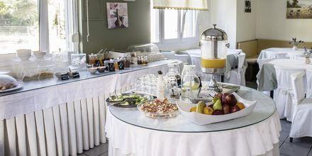 Frukostrum på hotell Armeno Beach på Lefkas, Grekland.