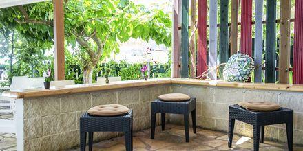 Baren på hotell Armeno Beach på Lefkas, Grekland.