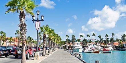 På Aruba är den konstanta temperaturen runt 26-28 grader, vilket gör det till ett perfekt resmål året om.