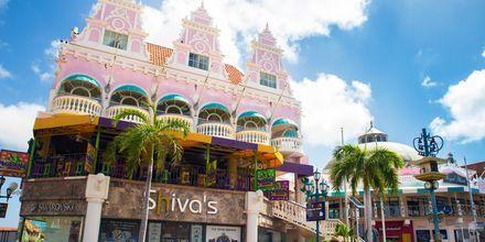 Huvudstaden på Aruba heter Oranjestad och är ett riktigt shoppingmecka!
