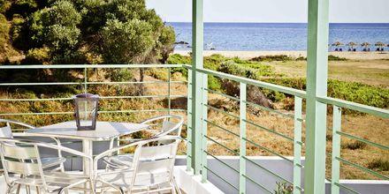 Utsikt mot havet från Aselinos Villa på Skiathos