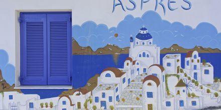 Lägenhetshotell Aspres i Votsalakia, Samos.