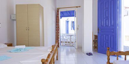 Enrumslägenhet på lägenhetshotell Aspres i Votsalakia, Samos.