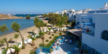 Hotell Asteria i Naxos stad, Grekland.
