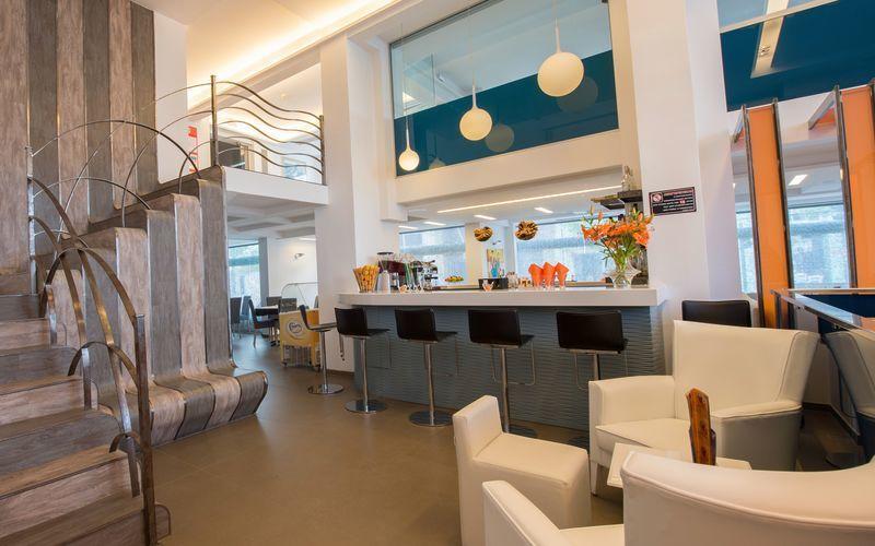 Café Iridanos på hotell Astron, Ierapetra.