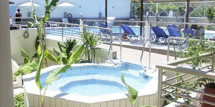Jacuzzin på hotell Astron på Kos, Grekland.