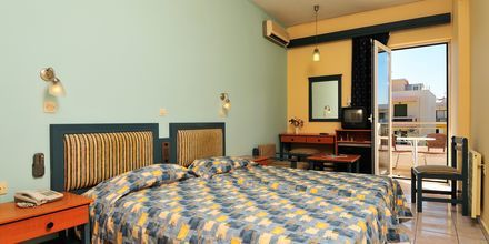 Dubbelrum/Enkelrum på hotell Astron i Kos stad, Grekland.