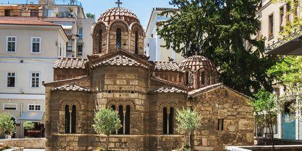 Kyrkan Panaghia Kapnikarea i Aten.