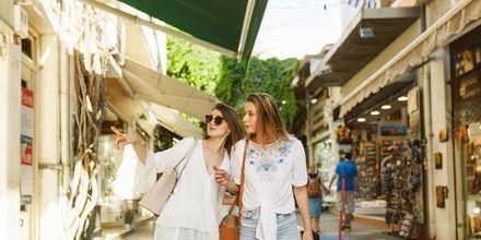 Aten är perfekt för den som gillar shopping!