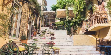 Plaka, som är Atens äldsta stadsdel.