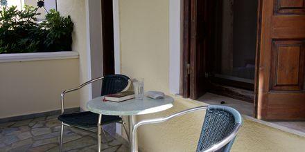 Dubbelrum på hotell Athena i Kokkari, Samos.