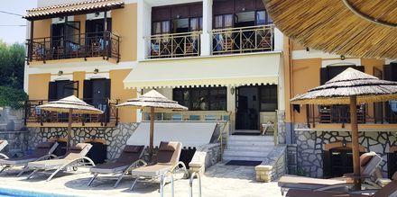 Hotell Athina i Pythagorion på Samos, Grekland.