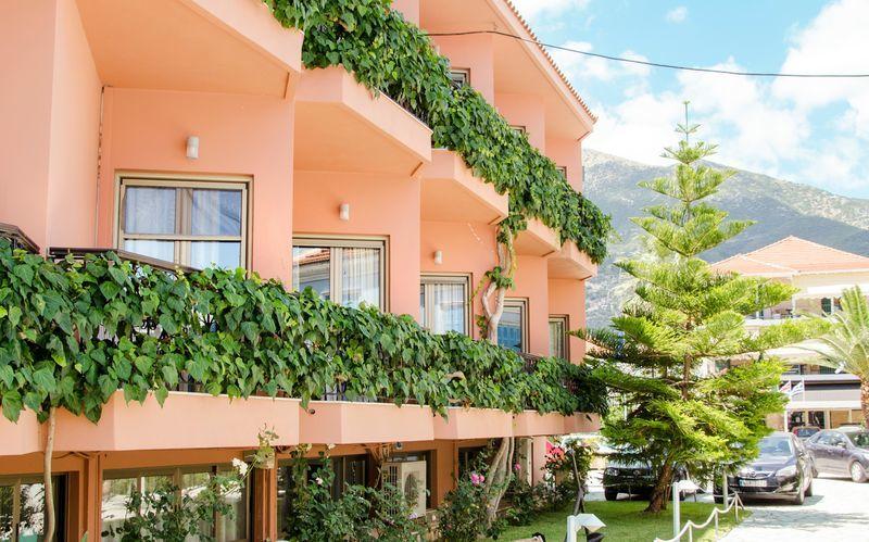 Hotell Athos på Lefkas.