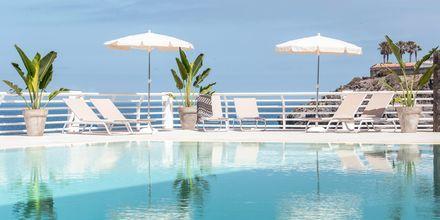 Poolområde på hotell Atlantic Holiday Center, Teneriffa.
