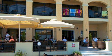 Hotell Atlantis Beach i Rethymnon, Kreta.