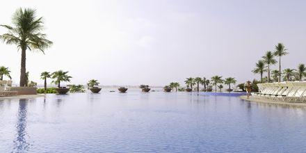 Pool på hotell Atlantis the Palm i Dubai Palm Jumeirah, Förenade Arabemiraten.