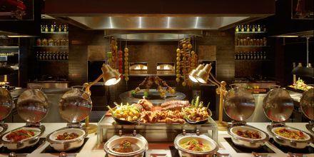 Saffron Restaurant på Hotell Atlantis the Palm i Dubai Palm Jumeirah, Förenade Arabemiraten.