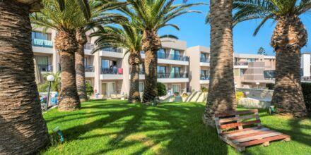 Hotell Atrion i Agia Marina på Kreta, Grekland.