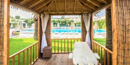 Unna dig skön massage på hotell Atrion i Agia Marina på Kreta, Grekland.