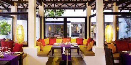 Restaurang Frangapini på hotell Avani Bentota Resort & Spa i Bentota, Sri Lanka.