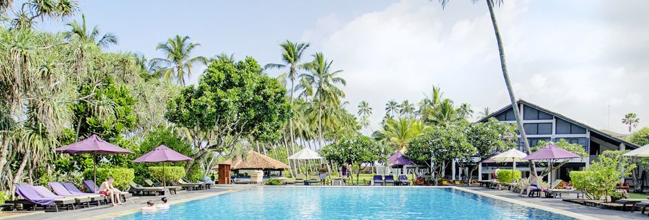 Hotell Avani Bentota Resort & Spa i Bentota, Sri Lanka.