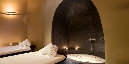 Massage på Avaton Resort & Spa på Santorini, Grekland.