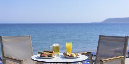 Snackbar på Avra Beach, Rhodos.